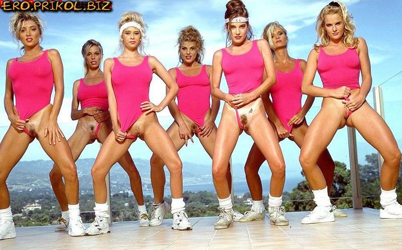 Аэробика 80-х годов видео эротика