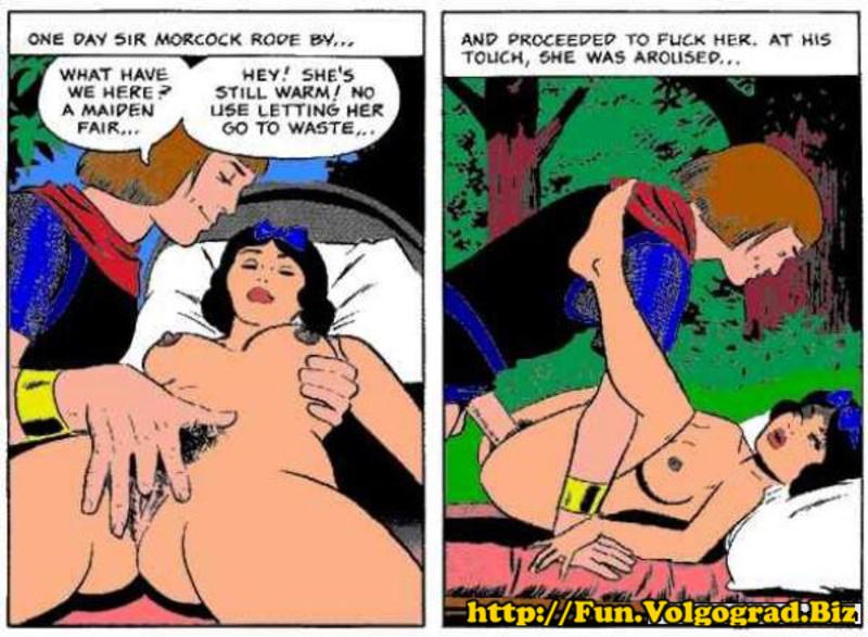 Белоснежка и принц секс