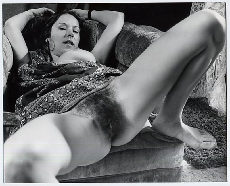 пятидесятые волосатые годы порно киски ретро