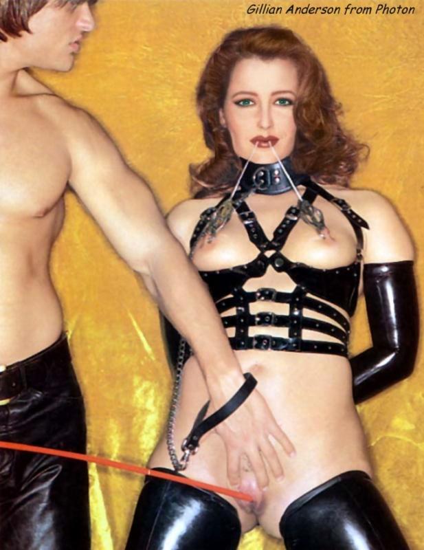 Джиллиан андерсон съемки в порно