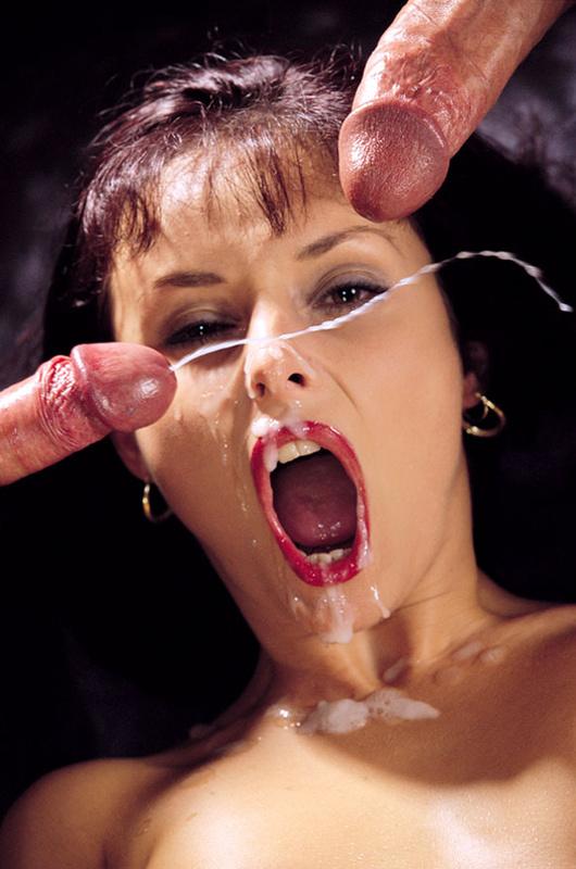 Лучшая сперма в рот порно