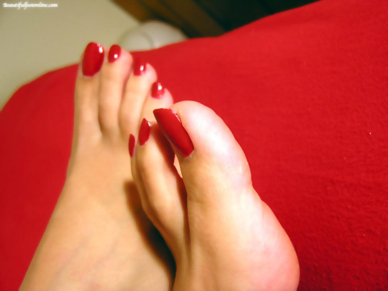 Смотреть фото женских пальчиков ног, Красивые ступни девушек это прекрасно (фото.) 14 фотография