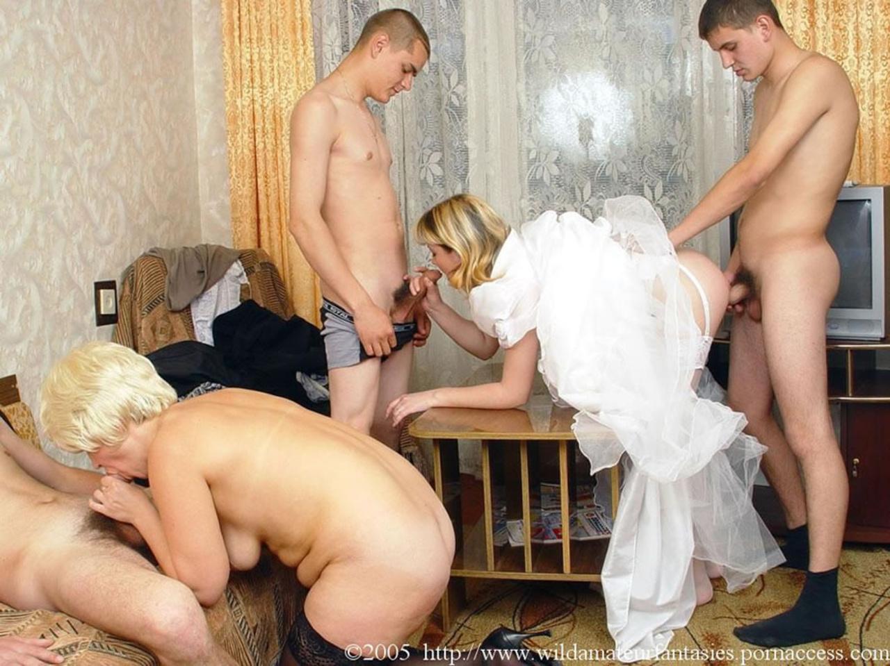 на рассказы свадьбах порно