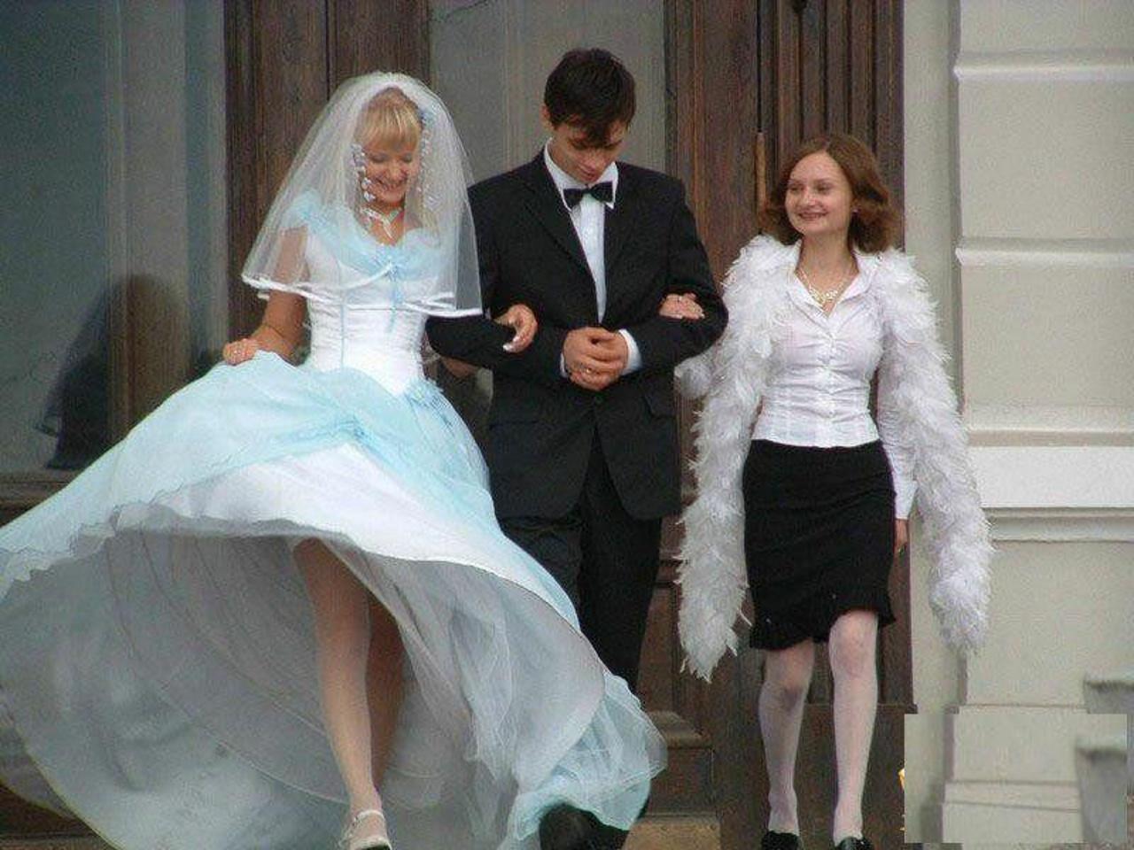 Телки на свадьбе фото, Свадебные засветы (44 фото) 7 фотография
