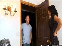 Позвала мужика смотреть квартиру