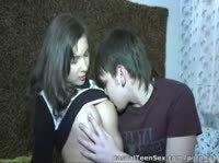 Никита снял девушку, привел ее домой и записал их секс на видео!