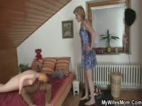 Домработница застукала парня за непотребством